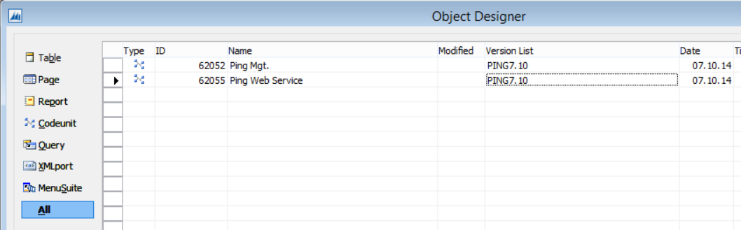 Web Service Ping Function for NAV 2013 R2 Image